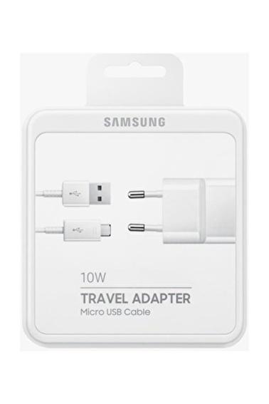 Samsung Micro USB Hızlı Şarj Aleti Beyaz EP-TA12EWEUGWW Renkli